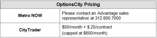 OC Pricing Box